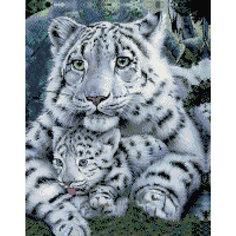 """Алмазная мозаика """"Бенгальские тигры"""" 40*50 см Tukzar"""