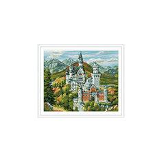 """Алмазная мозаика по номерам """"Замок"""" 40*50 см (на подрамнике) Tukzar"""
