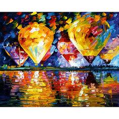 """Алмазная мозаика по номерам """"Воздушные шары"""" 40*50 см, с прозрачными стразами Tukzar"""