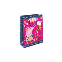 """Пакет подарочный  """"Пеппа и Сьюзи"""", 35*25*9 Росмэн"""