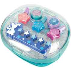 Игровой набор детской декоративной косметики с сушкой лака, Холодное сердце -
