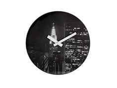 """Настенные часы """"THE CITY"""" с 3D эффектом Urbanika"""