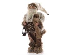 Санта с подсвечником Polkadot Store