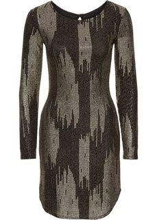 Вечернее платье (черный/золотистый) Bonprix