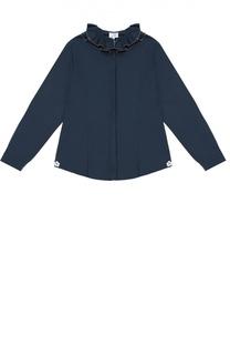 Хлопковая блуза с декором Aletta