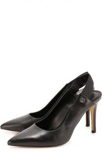 Кожаные туфли с эластичным ремешком Michael Michael Kors