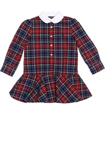 Платье-рубашка в клетку Polo Ralph Lauren