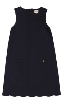 Платье без рукавов с карманами Giorgio Armani
