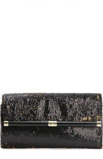 Клатч 440 Envelope с вышивкой пайетками Diane Von Furstenberg