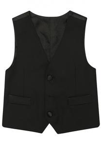 Шерстяной жилет на пуговицах Dolce & Gabbana