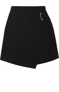 Короткая юбка-шорты с поясом Carven