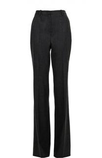 Шерстяные расклешенные брюки с завышенной талией Roberto Cavalli