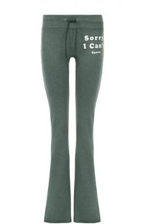 Расклешенные брюки с эластичным поясом Wildfox