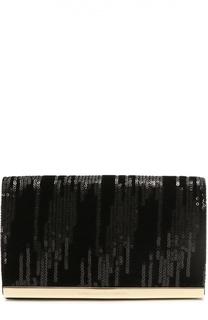 Клатч Soirée с вышивкой пайетками Diane Von Furstenberg