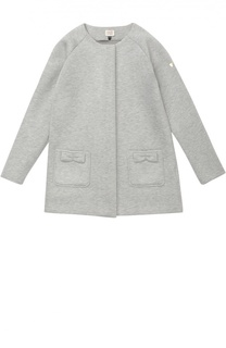 Пальто с накладными карманами и бантами Giorgio Armani