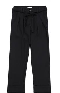 Классические брюки с поясом Aletta