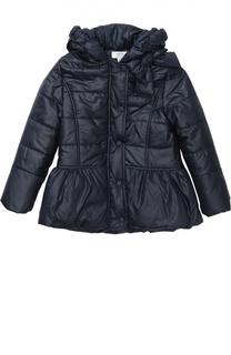 Приталенная куртка с капюшоном Aletta