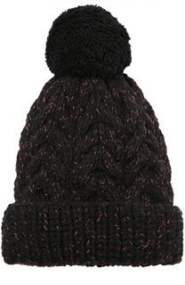 Шерстная шапка с помпоном 7II