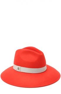 Шляпа с декоративной лентой Armani Collezioni
