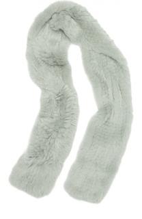 Шарф из меха кролика Yves Salomon Enfant