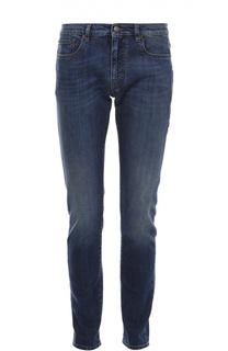 Зауженные джинсы с потертостями Belstaff