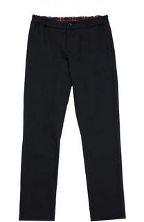 Шерстяные брюки прямого кроя Gucci
