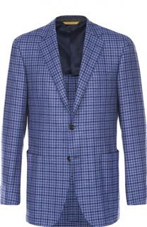 Пиджак из смеси шерсти и кашемира Canali
