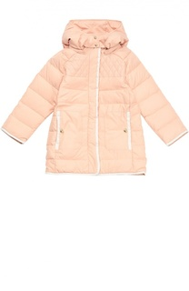 Пуховое пальто с капюшоном Chloé