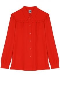 Блуза прямого кроя с оборками M Missoni