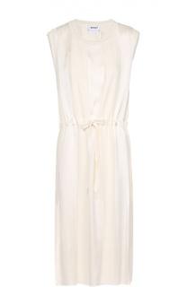 Приталенное платье без рукавов с круглым вырезом DKNY