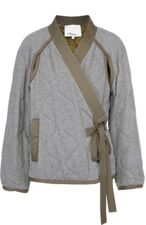 Жакет-кимоно с контрастной отделкой 3.1 Phillip Lim