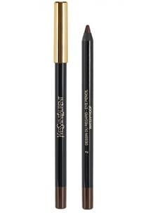 Crayon Yeux Карандаш для глаз водостойкий 02 Patent Leather YSL