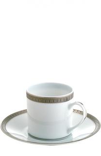 Кофейная чашка с блюдцем Malmaison Christofle