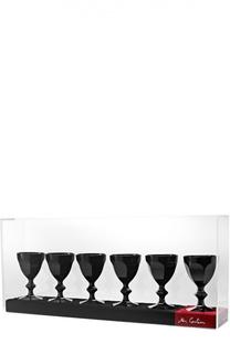 "Набор из 6-ти фужеров Philippe Starck Darkside ""Un Parfait"" Baccarat"