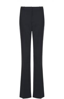 Шерстяные расклешенные брюки со стрелками HUGO
