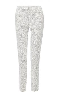 Укороченные брюки прямого кроя с карманами HUGO