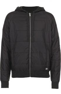 Двусторонняя утепленная куртка Dirk Bikkembergs