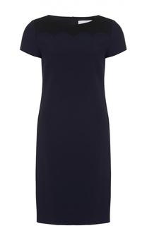 Приталенное мини-платье с коротким рукавом HUGO