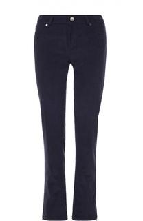 Вельветовые брюки прямого кроя с завышенной талией Loro Piana
