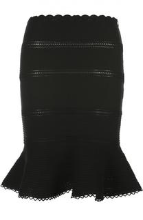 Вязаная юбка Alexander McQueen