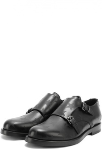 Кожаные монки с принтом в виде звезд Valentino