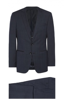 Шерстяной костюм-тройка BOSS
