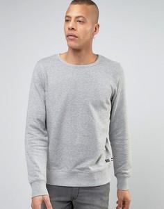 Трикотажный свитшот Produkt - Серый