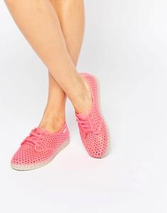 Эспадрильи со шнуровкой Zaxy - Розовый