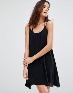 Пляжное платье на бретельках Echo - Черный