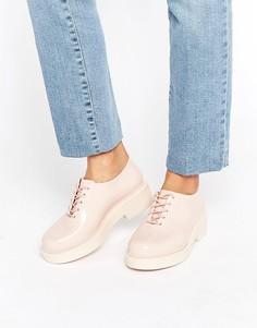 Ботинки на шнуровке Melissa - Бежевый