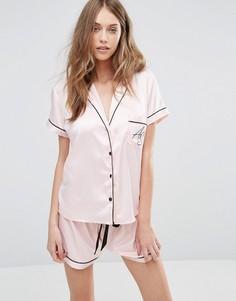 Пижама с шортами Ann Summers AS - Розовый