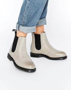 Ботинки Dr Martens Flora - Серый