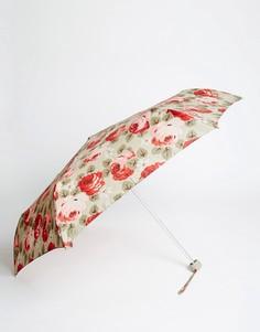 Небольшой зонт с цветочным принтом Cath Kidston Aubrey - Бежевый