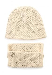 Комплект шапка и митенки Fiorella Rubino